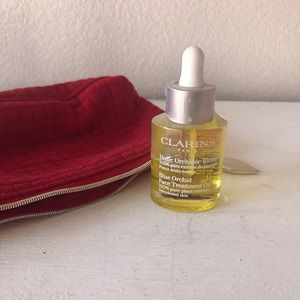 Clarins Blue Orchid Treatment Oil with FREE Bag